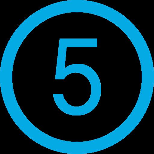 003 number five in circular button - ¿Cómo funciona?